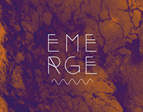 Student work - Emerge editorial design