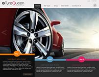 Tyre Queen Website MockUp 1