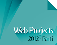 Web Projects 2012 Part I