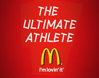 McDonald's Olympic Facebook App