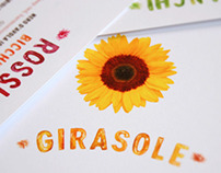 Girasole: Menu Design