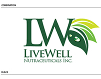 Livewell Nutraceutical Corporate Logo Study 2