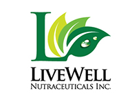 Livewell Nutraceuticals Corporate Logo and Branding