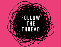 Follow the Thread Exhibition Identity
