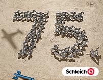 Schleich – 75 Jahre Kampagne