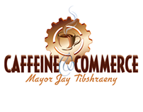 Caffeine and Commerce logo