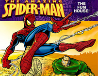 Scott Stewart illustrates the first Spiderman kids book