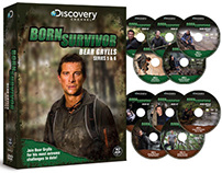 Born Survivor Bear Grylls Series 5 & 6 Packaging