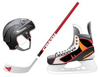 Crash Hockey Equiptment