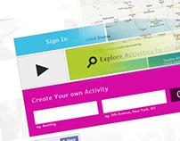 Social Network - Peeria redesign