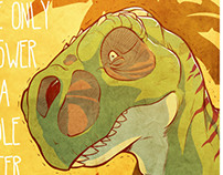 Inhibited T-Rex