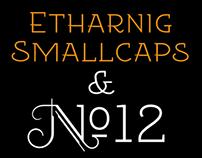 Free fonts EtharnigSc & EtharnigNo12