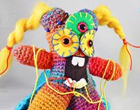 Momotaro the Yarn disorganizer
