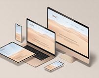 Isometric Responsive Screen Device - Mockup