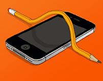 """The iphone stinks"""