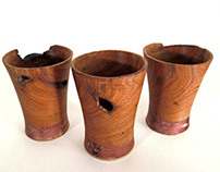 Wooden 'cups'