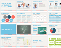 Universal Pitch Deck One PowerPoint Template