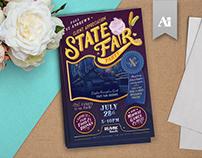 State Fair Party Invite