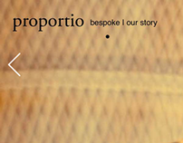proportio: touch tailor-made web design