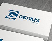 Design Logo Genius Construtora
