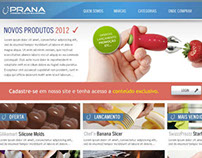 Layout Site Prana