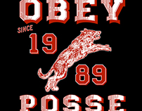 OBEY POSSE WOLF SINCE 1989