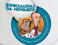 Especialistas Novartis | brindes canecas