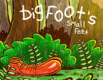 Bigfoot's Small Feet (Book Cover)