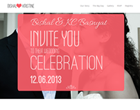 Kcwedsbishal.com - A Wedding Website