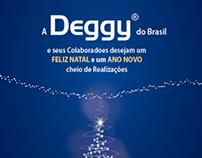 Cartão de Natal para empresa Deggy