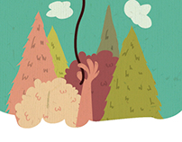 Ilustraciones para libro infantil.