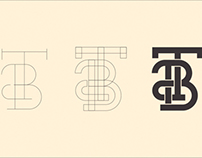 T&B Electric Logo Drafts/How to Make a Monogram
