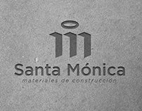 Logo - Santa Mónica - Materiales de Construcción