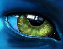 Digital Painting | Avatar Eye