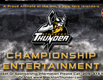 Thunder. Championship Entertainment