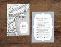 Duluth Wedding Map