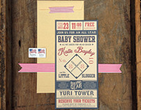 Vintage Baseball Invitations