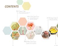 Editorial Design-MAMA contensts design