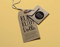 Ruby Ruth Dolls - logo and branding