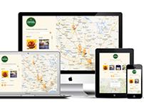 Mapa de Lojas Natortilha