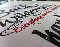 Typographic Poster Newbie