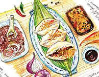 Food & drink illustrations