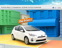 Toyota facebook product tabs