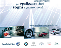 "Advertising pages ""Professione Motori"""