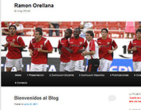 WEB 2.0 BLOG OFICIAL RAMON ORELLANA