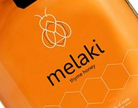 branding and packaging design for thyme honey