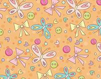 Padrão- Entre borboletas e botões