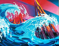 Mural for VIROD, 2011