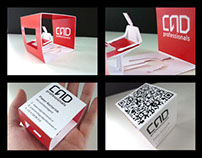Cad Professional logo and corporate identity