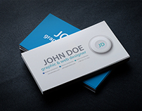Business Card BlackSeries Mockup